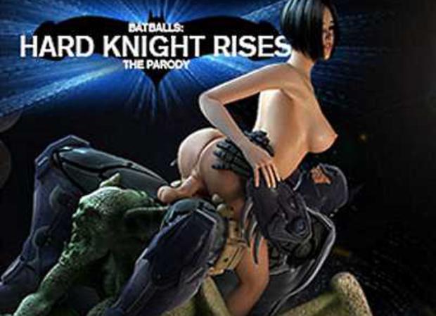 Jouer à BatBalls Hard Knight Rises