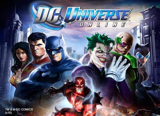 Jouer à DC Universe
