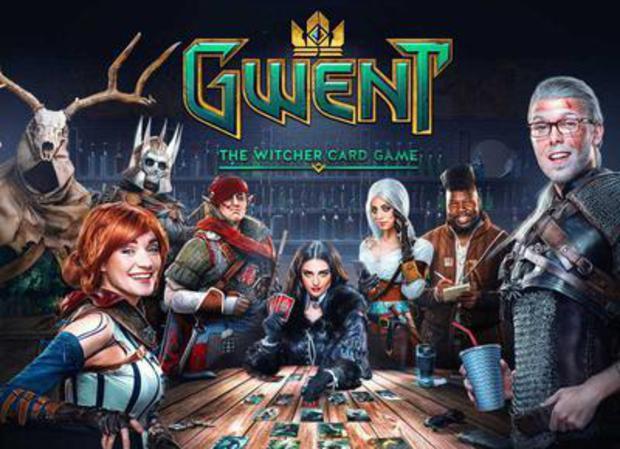 Jouer à Gwent