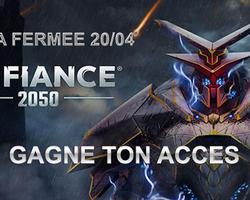 Le gagnant est connu - Acces Beta Defiance 2050