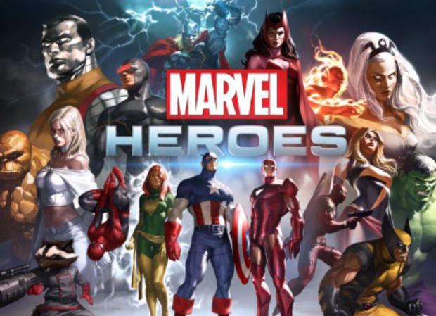 Jouer à Marvel Heroes