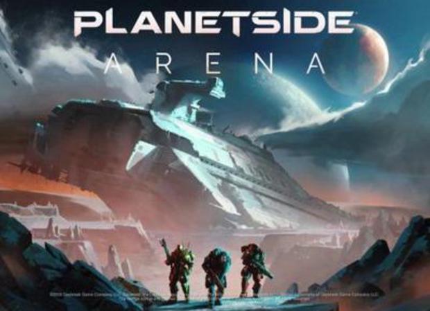 Jouer à Planetside Arena