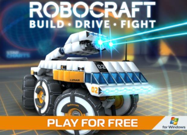 Jouer à RoboCraft