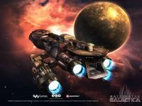 capture du jeu : Battlestar Galactica Online_1