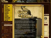 capture du jeu : Gangs of crime_0