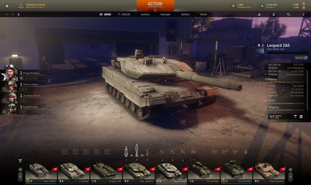 Armored Warfare garage5