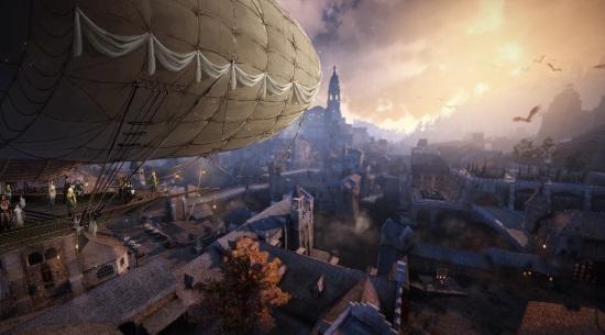 Black Desert Online zeppelin