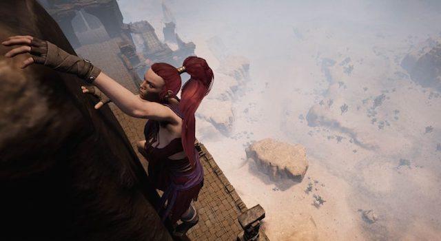 Conan Exiles MMORPG 2017 Escalade