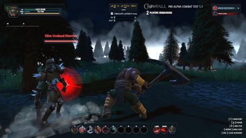 Crowfall combat
