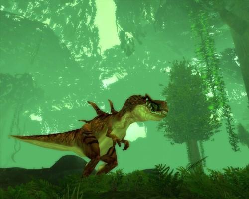 Hearthstone extension Voyage au centre d'Un'Goro dinosaurus rex