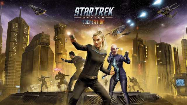 Star trek online escalation mise à jour 13.5