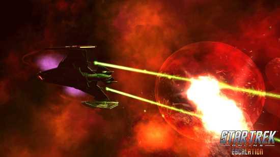 Star trek online escalation mise à jour 13.5 combat spatial