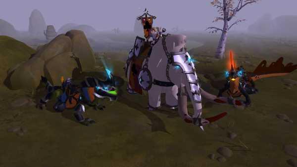 Albion Online - Mise à jour Kay - les montures de bataille