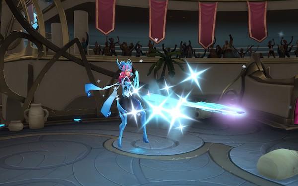 Battlerite - nouveau héros Alysia