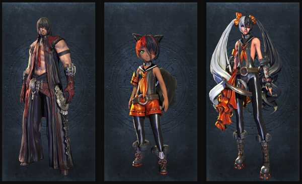 2 ans de Blade and Soul - Costumes Faille du Léviathan