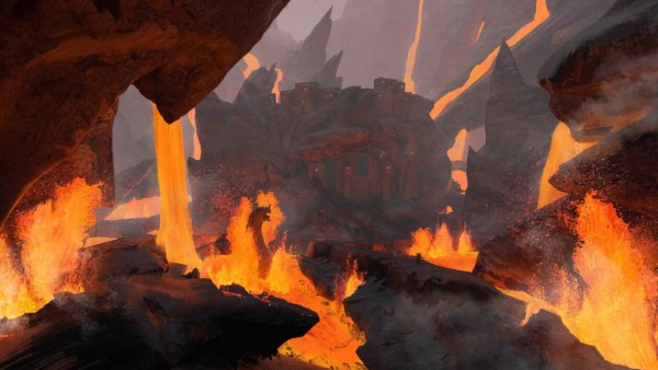 Conan Exiles - Biome volcanique