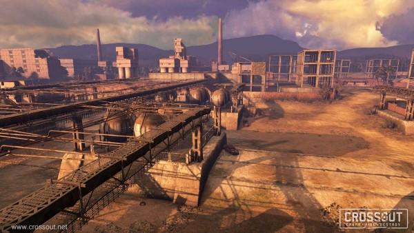 Crossout - Mise à jour - map Raffinerie