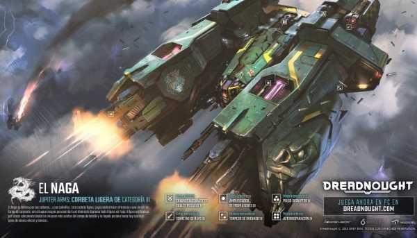 Dreadnought - nouveau vaisseau Naga