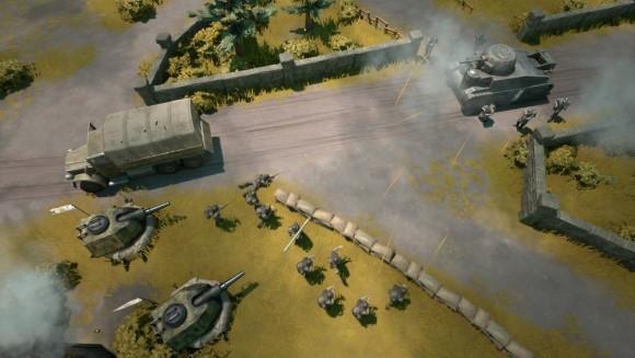 Foxhole - Accès anticipé - bataille rangée