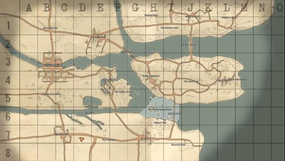 Foxhole - Accès anticipé - carte stratégique