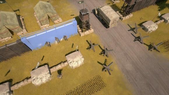 Foxhole - Accès anticipé - construction d'une barricade