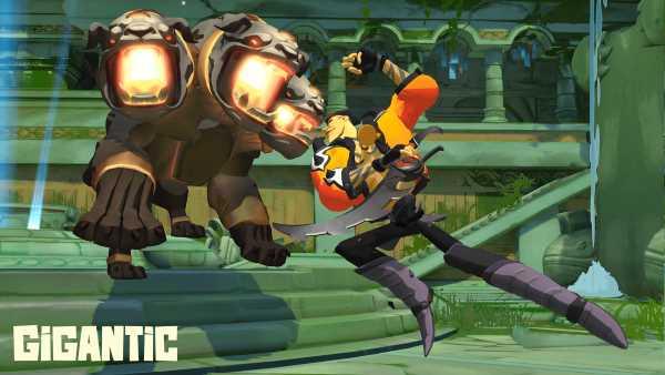 Gigantic - combat