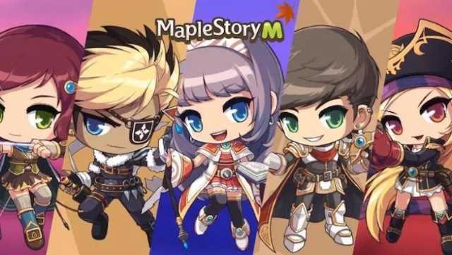 Maplestory M - 5 nouveaux personnages