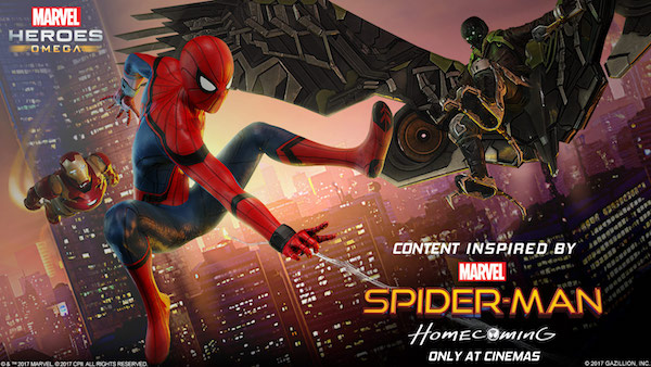 Marvel Heroes Omega Spiderman Homecoming