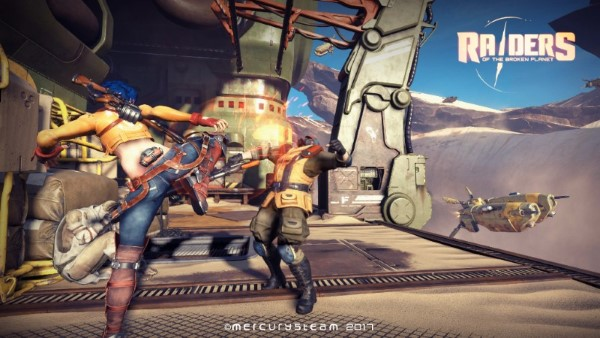 Raiders of the Broken Planet - Bêta ouverte 2