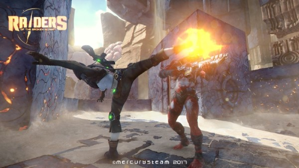 Raiders of the Broken Planet - Bêta ouverte 3