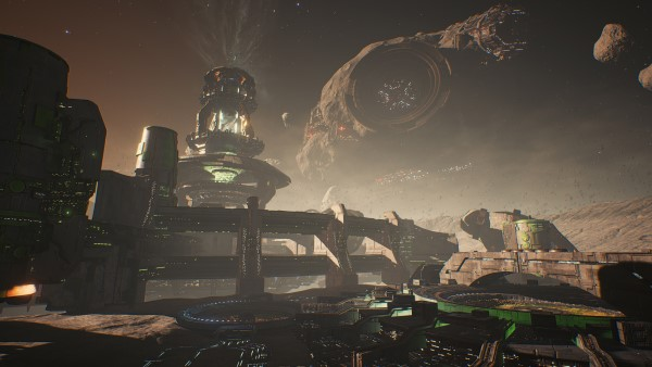 Dreadnought - nouvelle map : le Havre de Ryugu