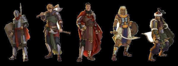 Les différentes tribus de Travian : Fire and Sand
