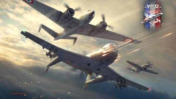 War Thunder - mise à jour Vive la France